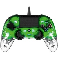 nacon PS4 Compact Controller Illuminated transparent / grün