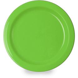 WACA Teller, (4 Stück), Kunststoff, Ø 14 cm grün