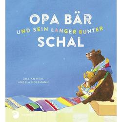 Opa Bär und sein langer bunter Schal als Buch von Gillan Heal