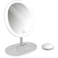 KW-Commerce Navaris LED Schminkspiegel mit 10-fach Vergrößerungsspiegel