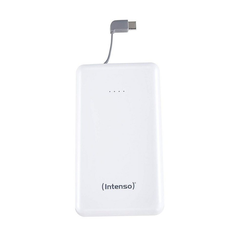 Intenso Powerbank Slim S10000-C Type C Kabel weiß Powerbank