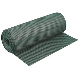 dynamic24 Balkonsichtschutz Polyrattan PVC Sichtschutz Matte 300x90cm Balkon Zaun Windschutz Garten grün