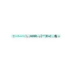 Washi Tapes Design Blau, 4 Rollen