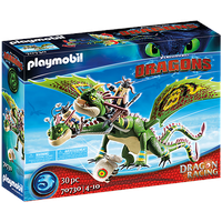 Playmobil Dragons Dragon Racing: Raffnuss und Taffnuss mit Kotz und Würg 70730