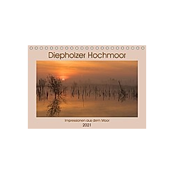 Diepholzer Hochmoor (Tischkalender 2021 DIN A5 quer)
