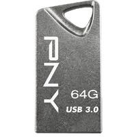 PNY T3 Attaché 64GB silber USB 3.0