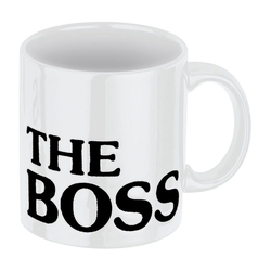 Waechtersbach Becher The Boss Weiß 330 ml