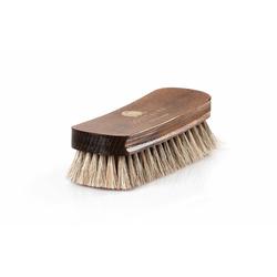 Solitaire Schuhputzbürste Polierbürste, Ideal für die Politur hochwertiger Schuhe braun