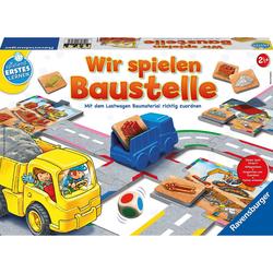 Ravensburger Lernspielzeug Wir spielen Baustelle