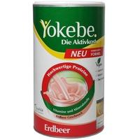 Yokebe Aktivkost Erdbeer Pulver 500 g