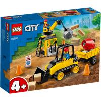 Lego City Bagger auf der Baustelle 60252