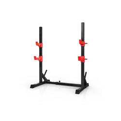 Zehnhase Langhantelstange Hantelständer für Krafttraining, (Set), höhenverstellbar, bis 300 kg belastbar, für Krafttraining Langhantel