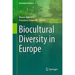 Biocultural Diversity in Europe - Buch