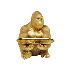 KARE Dekoobjekt Deko Figur Gorilla Butler