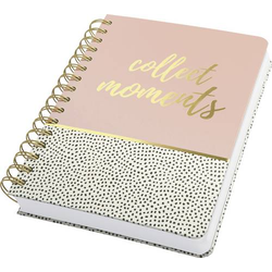 Sigel Jolie® sweet dots collect moments JN601 Spiral-Notizbuch Dot-Lineatur (punktkariert) Weiß, S