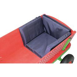 Sitzkissen Beachtrekker Style, Blau (geeignet div. andere Holzbollerwagen)  Kinder
