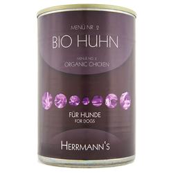 (7,16 EUR/kg) Herrmanns Bio Huhn mit Hirse und Gemüse 400 g - 12 Stück