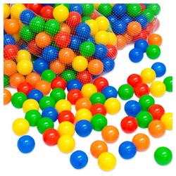 LittleTom Bällebad-Bälle 1000 bunte Bälle für Bällebad 5,5 cm Babybälle, Plastikbälle Bälle Spielbälle