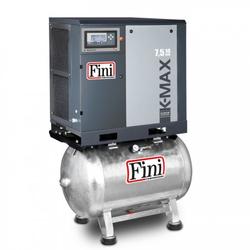 FINI Schraubenkompressor Direktgekuppelt K-MAX 7,5-10-270F (IE3), 7,5 KW, Liefermenge 1050 L/min., 270 L. Kessel