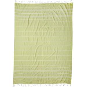 Bersuse 100% Baumwolle - Anatolia XXL Strandtuch Sofa-Überwurf - 155 x 210 cm, Pistaziengrün