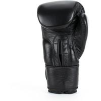 Super Pro Boxhandschuhe schwarz 16 OZ