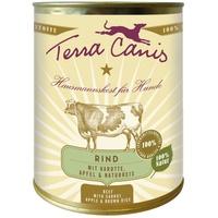 Terra Canis Classic Rind mit Karotte Apfel & Naturreis 800 g