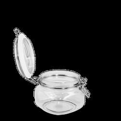 380 ml Dose - quadratisch - klar