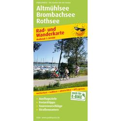 Altmühlsee - Brombachsee - Rothsee 1 : 50 000