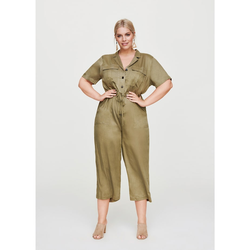 Jumpsuit im Utility-Style Rock Your Curves by Angelina K Oliv