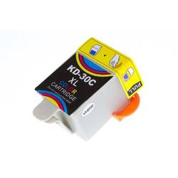 vhbw Druckerpatrone Tintenpatrone C/M/Y für Kodak Hero 3.1, 5.1 wie 30, 30XL.