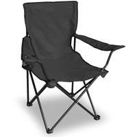 Mil-Tec Campingstuhl Relax Sessel schwarz (14445002)