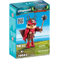 Playmobil Dragons Rotzbakke im Fluganzug 70043