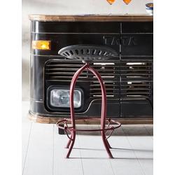 SIT Barhocker This&That, Traktorsitz auf Metallgestell rot