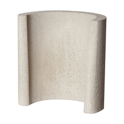 Buschbeck Sockel Beistelltisch Grillkamin, 42 x 25 x 43 cm
