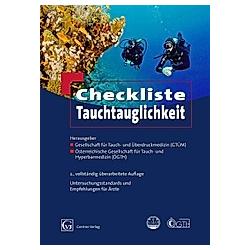 Checkliste Tauchtauglichkeit - Buch