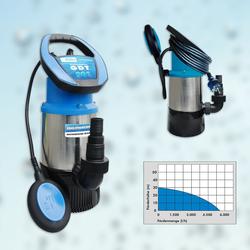 Güde Drucktauchpumpe Schmutzwasserpumpe Tauchpumpe Wasserpumpe Pumpe GDT 901