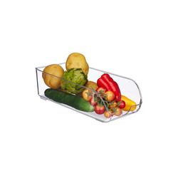 relaxdays Aufbewahrungsbox Kühlschrank Organizer, Kunststoff