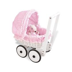 Pinolino® Puppenwagen Marion - Vichy-Karo, mit Bettzeug