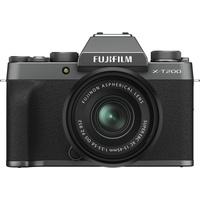 Fujifilm X-T200 grau + XC 15-45mm OIS PZ schwarz