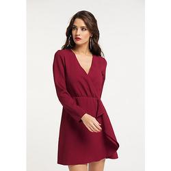 Kleid Stillkleider dunkelrot Gr. 32 Damen Erwachsene