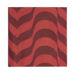 Iittala Aalto Papierservietten weinrot/rot 33 cm