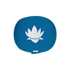 yogabox Yogakissen oval Lotus Stick BASIC blau