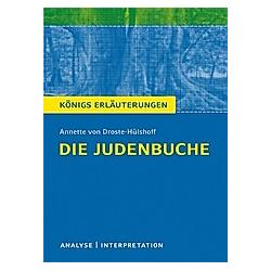 Annette von Droste-Hülshoff 'Die Judenbuche'. Annette von Droste-Hülshoff  - Buch