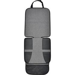 Autositzauflage mit Taschen XL dunkelgrau