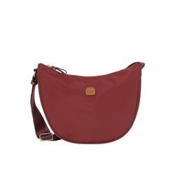 Bric's Umhängetasche X-Bag Schultertasche 33 cm rot