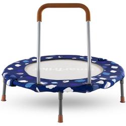 smarTrike® Kindertrampolin Ø: ca. 90 cm, blau, Ø 90 cm, mit Haltegriff; zum Bällebad umbaubar