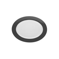 Thomas Porzellan Servierplatte Sunny Day Grey Platte 33 cm, Porzellan, (1-tlg)