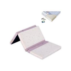 Kindermatratze Faltbare Matratze Classic, Lorelli, 5 cm hoch, violett Größe 120 x 60 x 5 cm, Bezug waschbar