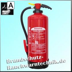 BAVARIA 9l Auflade-Wasserlöscher, 12LE - Feuerlöscher