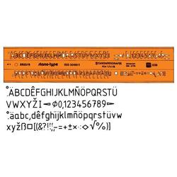 STANDARDGRAPH Schriftschablone 5mm Type 2522